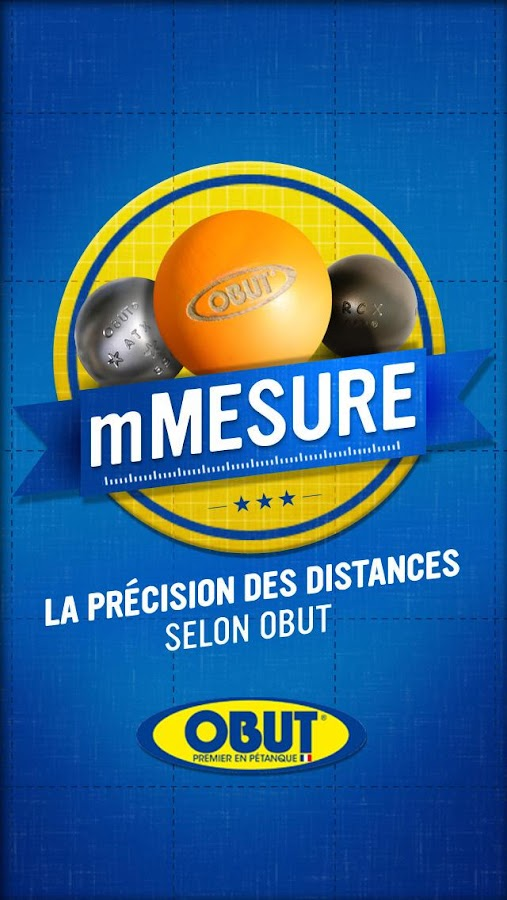 mMesure – Capture d'écran