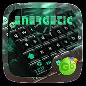 Energetic GO Keyboard Theme