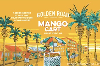 Logo of Golden Road Mango Cart