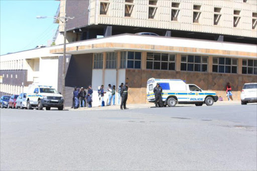 Police monitor Fort Hare situation as students continue to boycott classes Picture: SINO MAJANGAZA