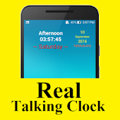 Real Talking Clock
