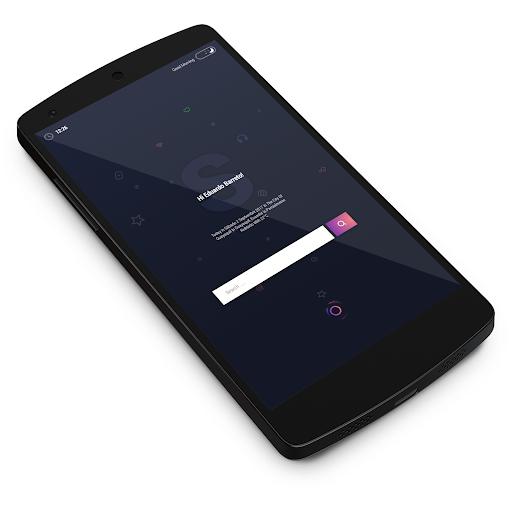 لالروبوت Dark Concept تطبيقات screenshot
