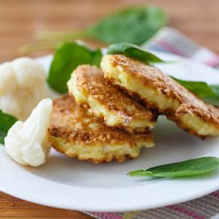 Sarah Adams' Cauliflower Cakes.
