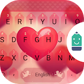Sweet Heart Theme Keyboard