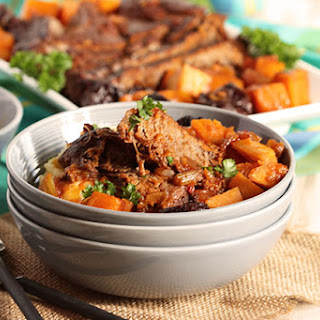 Pot Roast with Butternut Squash and Dried Plums