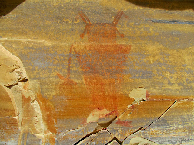 Fremont pictograph in the San Rafael Reef