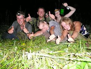 Photo: Noční kosení, společná fotka