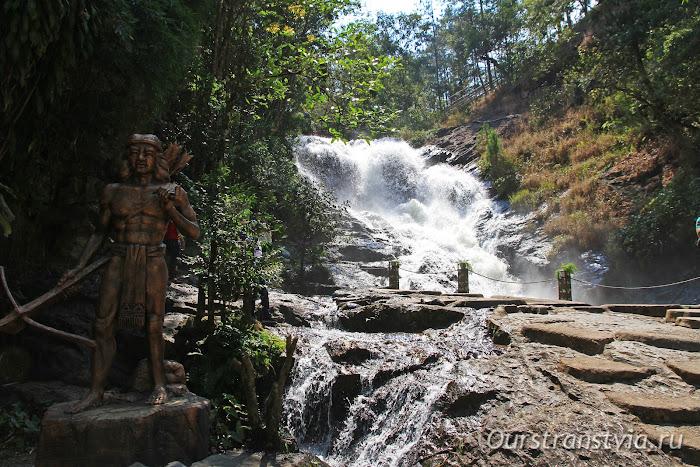 Достопримечательности Вьетнама - водопад Датанла в Далат