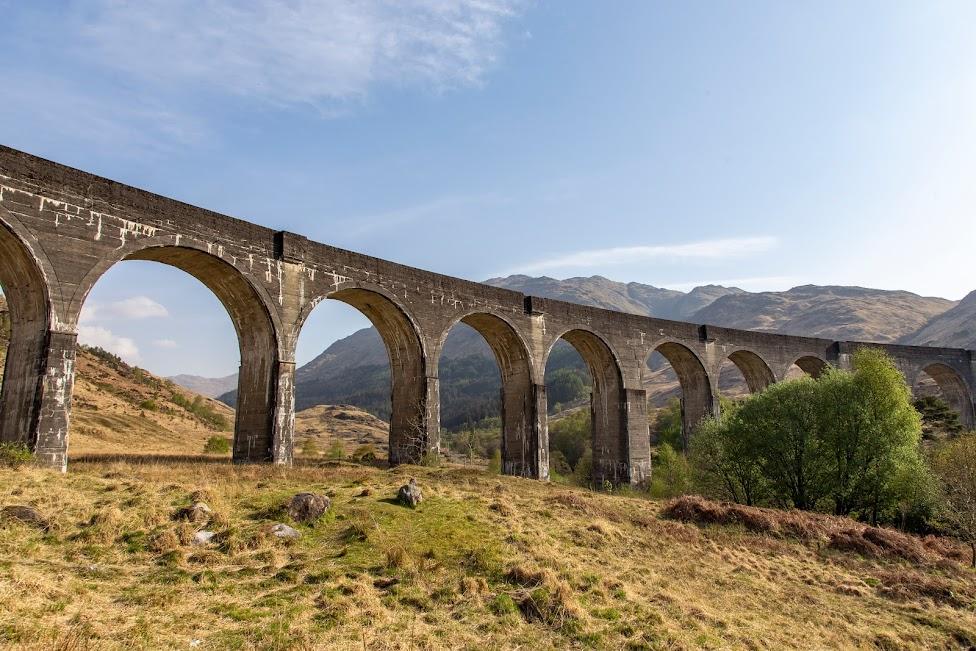 wiadukt Glenfinnan, Szkocja