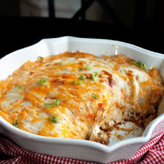 Cheesy Creole Shepherds Pie
