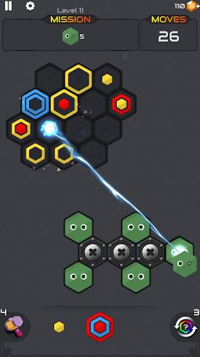 Princess and Zombies -Puzzle Hexa Blast apktram screenshots 5