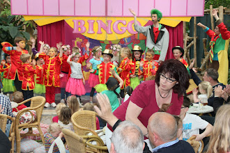 Photo: May 2013: Danique in Kids Circus at Vacation park Centerparcs Meerdal in America (NL)