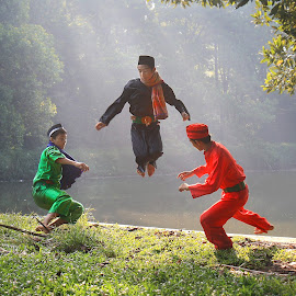 ...Jump... by ASEP MAULANA - People Street & Candids