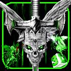 3Dイーヴルスカルソードテーマ icon