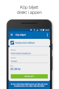 Hallandstrafiken- screenshot thumbnail