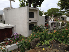 Photo: Cemetery in town