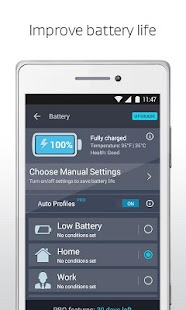 AVG Cleaner, Booster & Battery Saver for Android- screenshot thumbnail