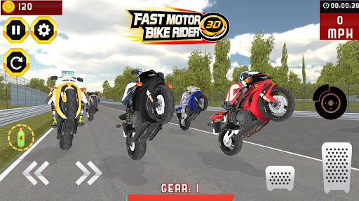 Super rapide Bike Racer 3D  code Triche 1