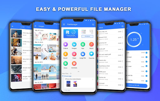 file manager pro with best booster and analyzer screenshot 1