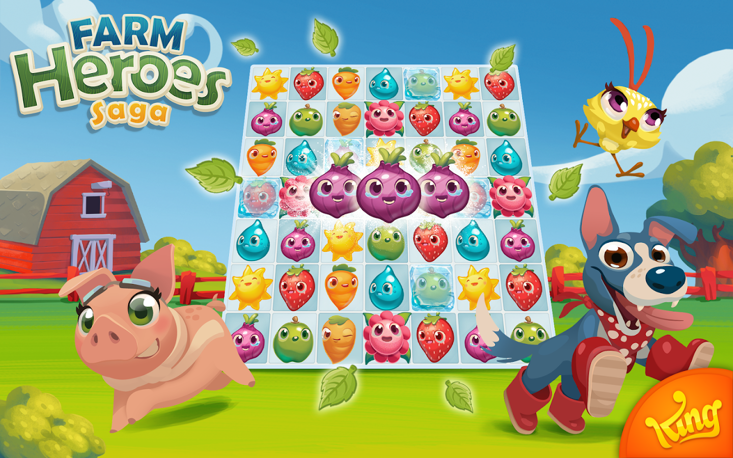 farm heroes play online