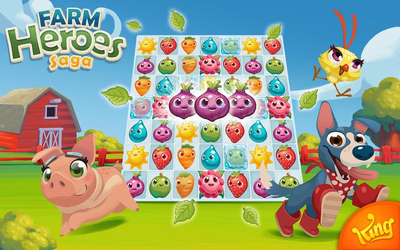 Farm Heroes Saga Screenshot 16