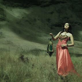 lost in savana by Sapto Nugroho - People Portraits of Women