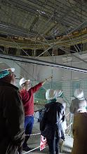 Photo: Primera visita. Contemplando la restauración de la cúpula