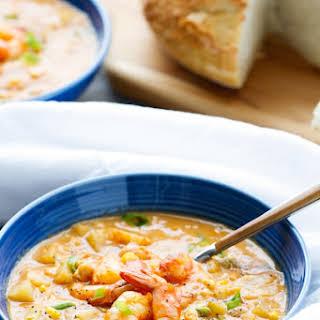 Shrimp and Corn Chowder.