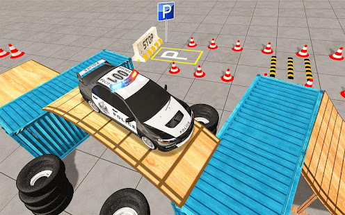 Modern Police Car Parking- Car Driving Games - Apps on