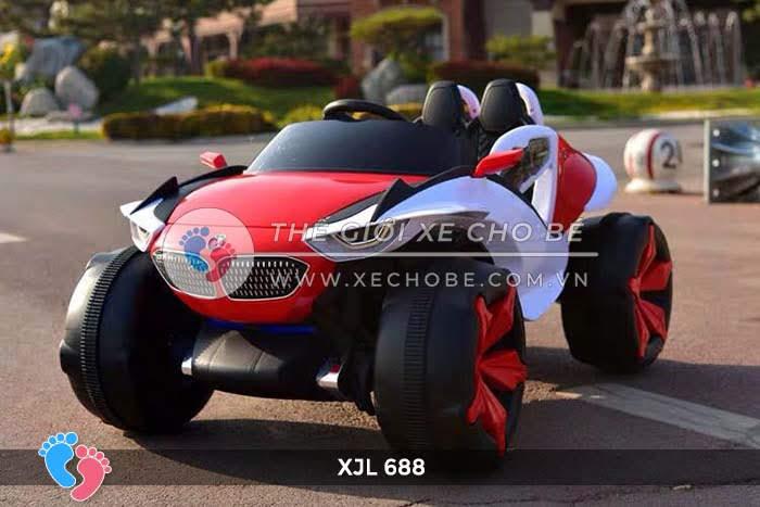 Xe ô tô điện địa hình cho bé XJL-688 14