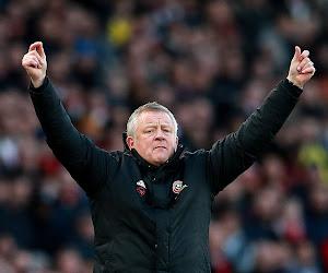 Sheffield avec son coach des U23 à Leicester