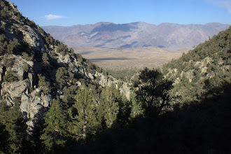 Photo: Lone Pine Creek to the Owens Valley