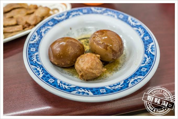 老周燒肉飯滷蛋貢丸