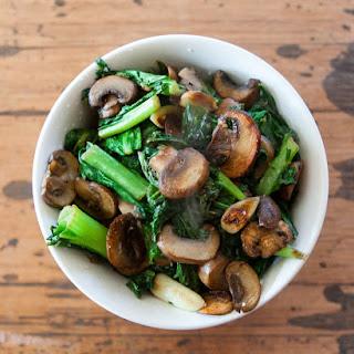 Mushroom & Greens Warm Salad