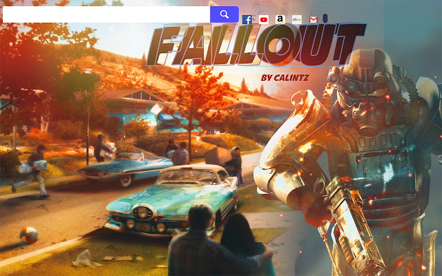 Fallout 4 Game HD Wallpapers New Tab.