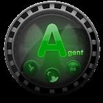 (FREE) Agent GO Launcher Theme Icon