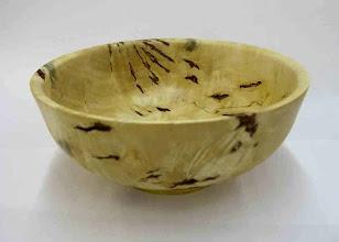 """Photo: Tim Aley - box-elder bowl, 8.5""""x3.5"""""""