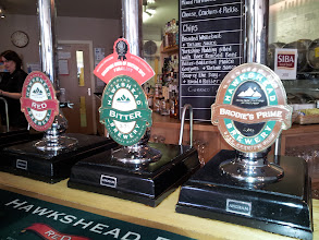 Photo: On our way south, the group stopped for beers, lunch and a tour of the marvelous Hawkshead Brewery in Kendal, Cumbria.