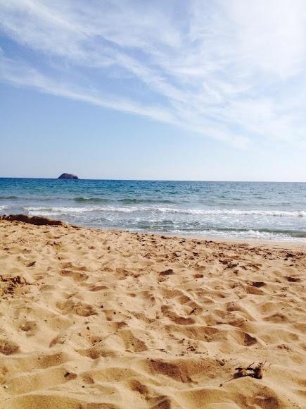 Pulpí, playa del litoral del municipio del Levante Almeriense.