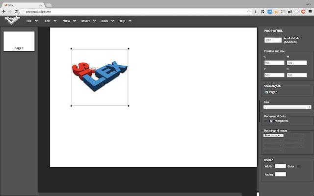 Silex Live Web Creation Chrome Web Store