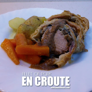 Fillet of Pork en Croute.