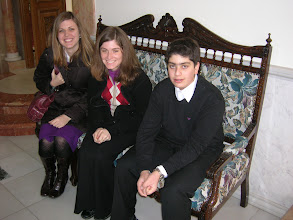 Photo: our acolyte friend Marcos