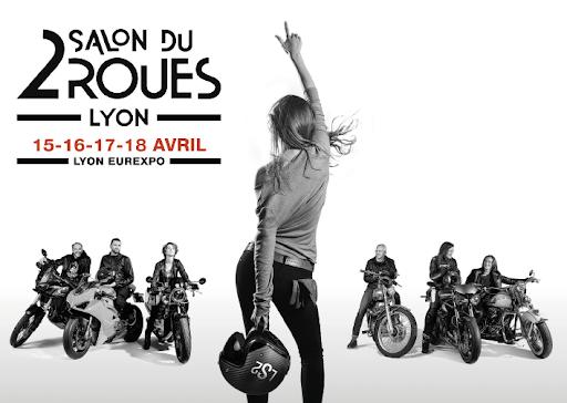 Salon du 2 roues de Lyon avec www.francemotovoyages.com