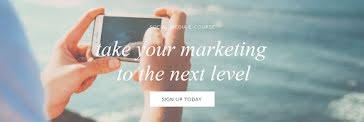 Next Level Marketing - Twitter Header Template