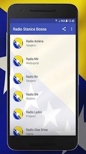 Radio Stanice Bosna - náhled