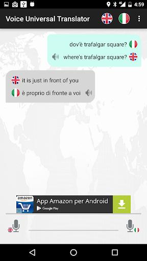Voice Universal Translator