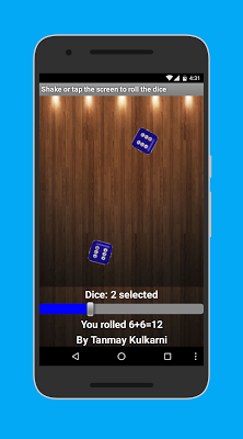Roll The Dice - screenshot