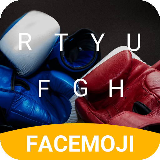 Boxer Gloves Keyboard Theme for Whatsapp