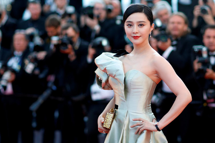 Actress Fan Bingbing is being charged with evading tax on her movie earnings in the US by Chinese authorities. Picture: REUTERS/STEPHANE MAHE/FILE PHOTO