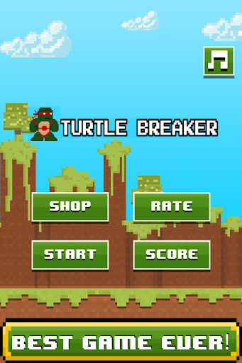 Turtle Ninja Breaker-Mine Mini